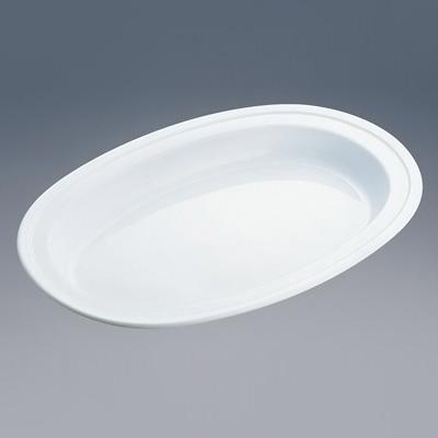 SW 小判チェーフィング用 陶器 16インチ用 450×300×H35mm( キッチンブランチ )