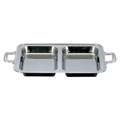 最適な価格 UK ダブル 18-8 ユニット角湯煎用 フードパン ダブル 20インチ( 20インチ( キッチンブランチ フードパン ), ナルトシ:eddb5fda --- ggegew.xyz