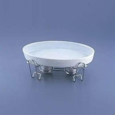 SA レ・アール 小判グラタンセット 1-PB200-48 485×293×H193mm <白>( キッチンブランチ )
