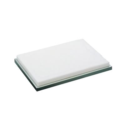 UK プラスチック製 カッティングボード (18-8台付) 420×320×H55mm( キッチンブランチ )