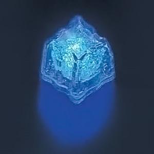 ライトキューブ・オリジナル(高輝度モデル)(24個入) 36×36×H35mm <ブルー>( キッチンブランチ )