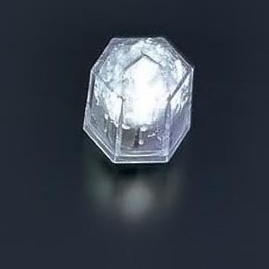 ライトキューブ・クリスタル(24個入)(高輝度モデル) 38×33×H40mm <ホワイト>( キッチンブランチ )