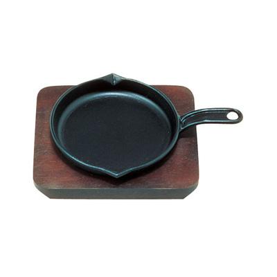 (S) ミニステーキ皿 フライパン 直径130mm( キッチンブランチ )