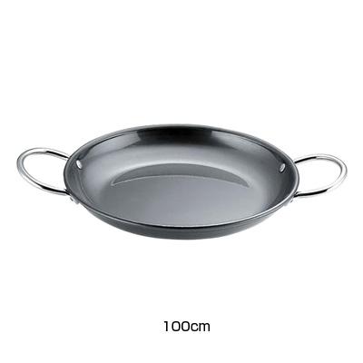 鉄 パエリア鍋 パートII 100cm( キッチンブランチ )