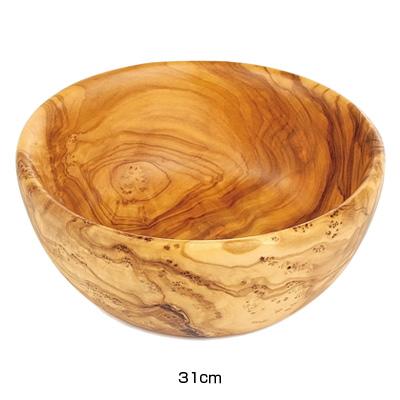 ベラール オリーブウッド フルーツボール 81574 31cm( キッチンブランチ )