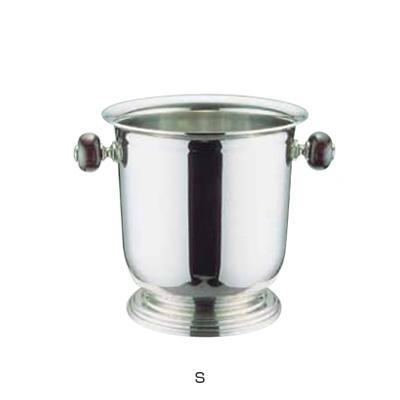UK 18-8 バロン シャンパンクーラー台付 S (木柄ハンドル) 1.7L( キッチンブランチ )