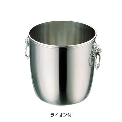 UK 18-8 B 渕 シャンパンクーラー A (ライオン付) 6L( キッチンブランチ )