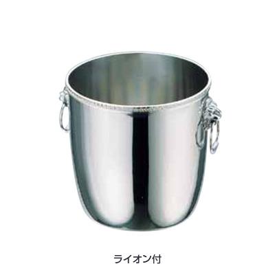 UK 18-8 菊渕 シャンパンクーラー A (ライオン付) 6L( キッチンブランチ )