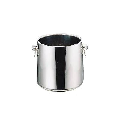 18-8 SR グランデーシャンパン クーラー 二重断熱構造 〈目皿付〉 3L( キッチンブランチ )