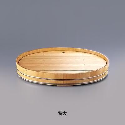 サワラ 小判 盛込桶 特大 700×450×H105mm( キッチンブランチ )