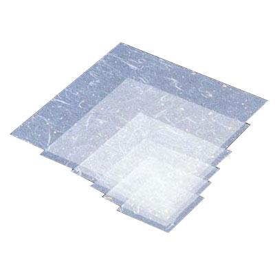 金箔紙ラミネート (500枚入) M30-428 300×300mm <白>( キッチンブランチ )