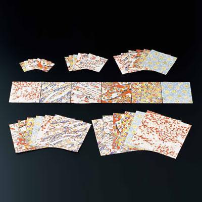 千代紙セット (200枚×6柄入) M33-131 150×150mm( キッチンブランチ )