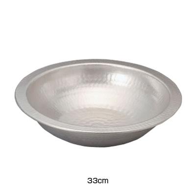 アルミ電磁用うどんすき(白仕上げ) 33cm( キッチンブランチ )