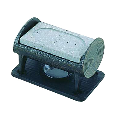 丸太石焼セット ST-471 175×110×H130mm( キッチンブランチ )