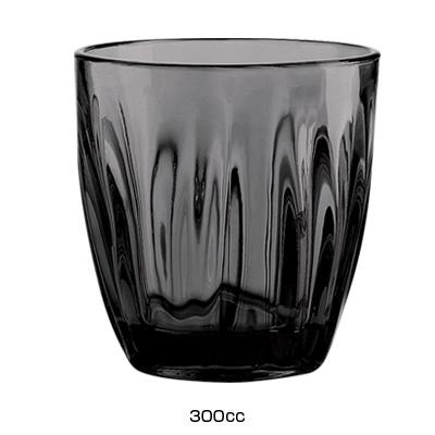 グッチーニ グラス 2496(6ヶ入)300c.c. <グレー>( キッチンブランチ )