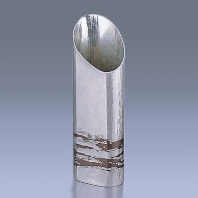 銅錫被 刷毛目篇筒ストレート酒器 SG007 360c.c.( キッチンブランチ )