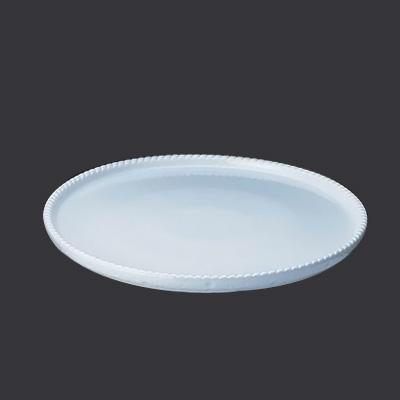 ロイヤル 丸型グラタン皿 PB300-40-4 直径400×H40mm <ホワイト>( キッチンブランチ )