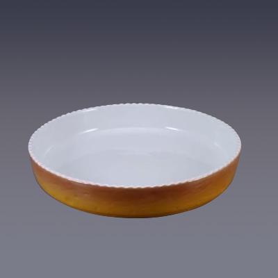 ロイヤル 丸型グラタン皿 PC300-40-7 直径400×H70mm <カラー>( キッチンブランチ )