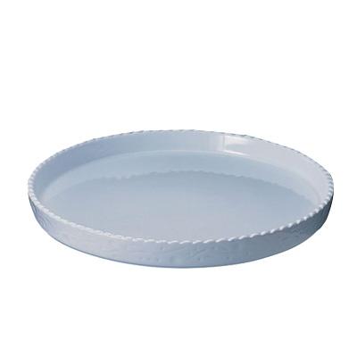 ロイヤル 丸型グラタン皿 PB300-40-7 直径400×H70mm <ホワイト>( キッチンブランチ )