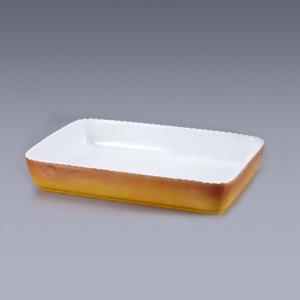 ロイヤル 角型グラタン皿 PC500-44 440×320×H60mm <カラー>( キッチンブランチ )