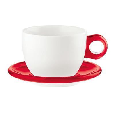 グッチーニ ラージコーヒーカップ 2客セット 2775.0065 450c.c. <レッド>( キッチンブランチ )
