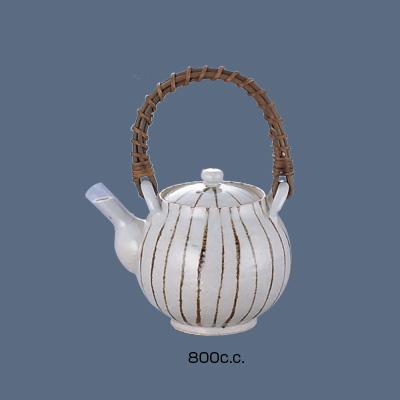 錆十草土瓶 D06-48 800c.c.( キッチンブランチ )