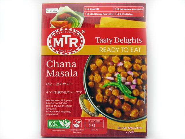 税込6,980円以上で送料無料 超美品再入荷品質至上 MTR 選択 ひよこ豆のカレー 輸入食品 チャナマサラ