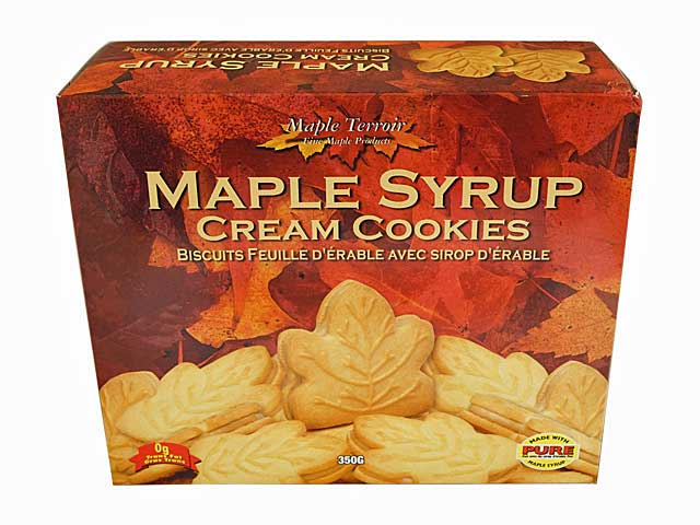 テロワール メープルシロップクリームクッキー【輸入食品】