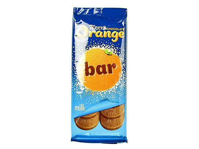 税込6,980円以上で送料無料 新商品 テリーズ チョコレートオレンジ ミルク 超激得SALE 輸入食品 タブレット 贈与