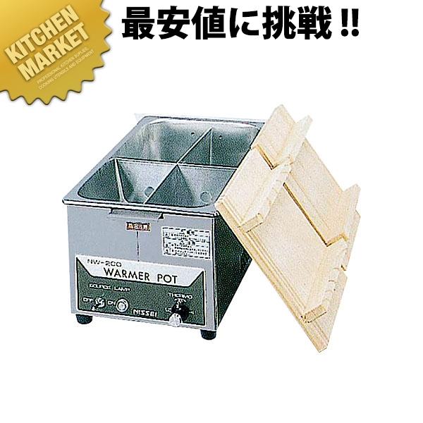 ニッセイ 電気 おでん鍋 (4ツ切) NW-201H 【kmaa】