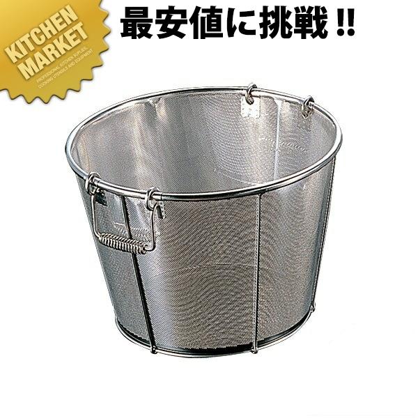 弁慶 BK 18-8パンチング醸造用米揚げざる 36cm 穴径φ1mm 【kmaa】