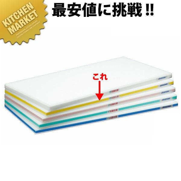 抗菌ポリエチレンかるがるまな板 肉厚タイプ HDK 片面10mm イエロー 750×350×30mm 【kmaa】