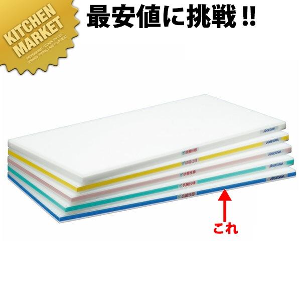 抗菌ポリエチレンかるがるまな板 肉厚タイプ HDK 片面10mm ブルー 600×300×30mm 【kmaa】