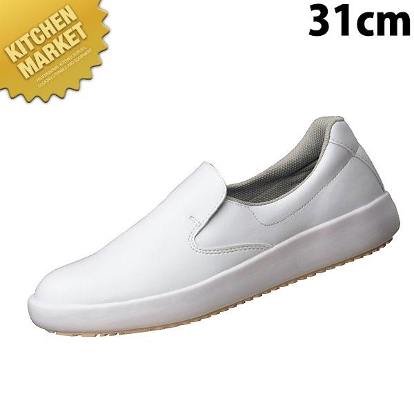 超耐滑作業靴NHS-700 白 31cm コックシューズ 厨房シューズ 厨房用シューズ 厨房靴 厨房用スニーカー 男女兼用 メンズ レディース 業務用 領収書対応可能