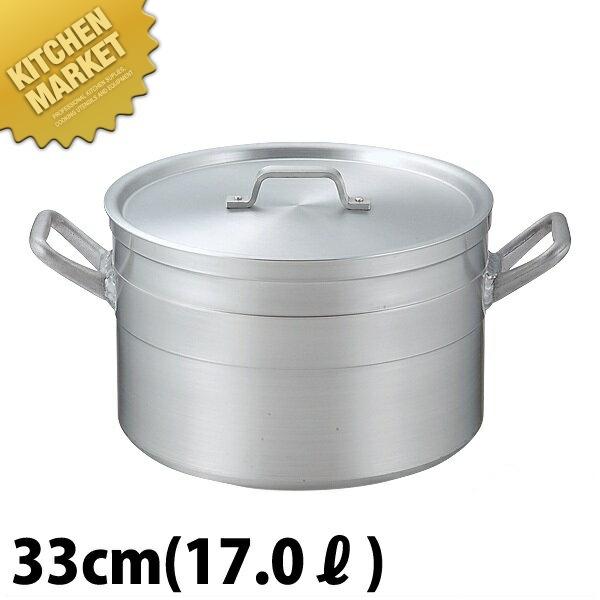 本間製作所 仔犬印 KO 超耐久型 アルミ 半寸胴鍋 33cm (22.0L) 日本製【kmaa】
