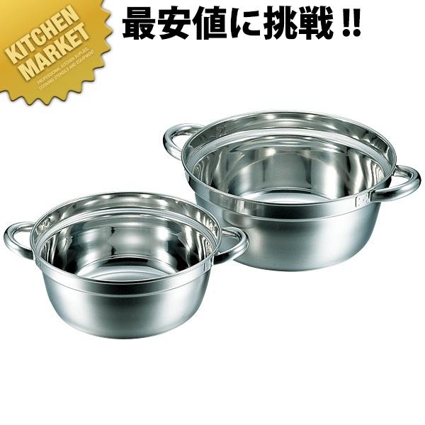 CLO 18-8段付料理鍋 48cm 23.0L【kmaa】