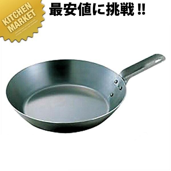 鉄短柄フライパン 45cm 向い取手 IH対応 鉄【kmaa】
