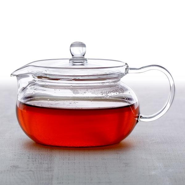 お茶の色を楽しむ 安心な耐熱ガラス製ポット あす楽 ハリオ 茶々急須 丸 450ml ガラス ポット ティーポット HARIO 新登場 耐熱 割引 CHJMN-45T 業務用食器