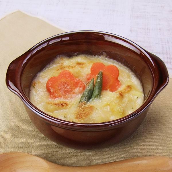 グラタン皿 小 丸 ブラウン オーブン対応 *電子レンジ対応 日本製