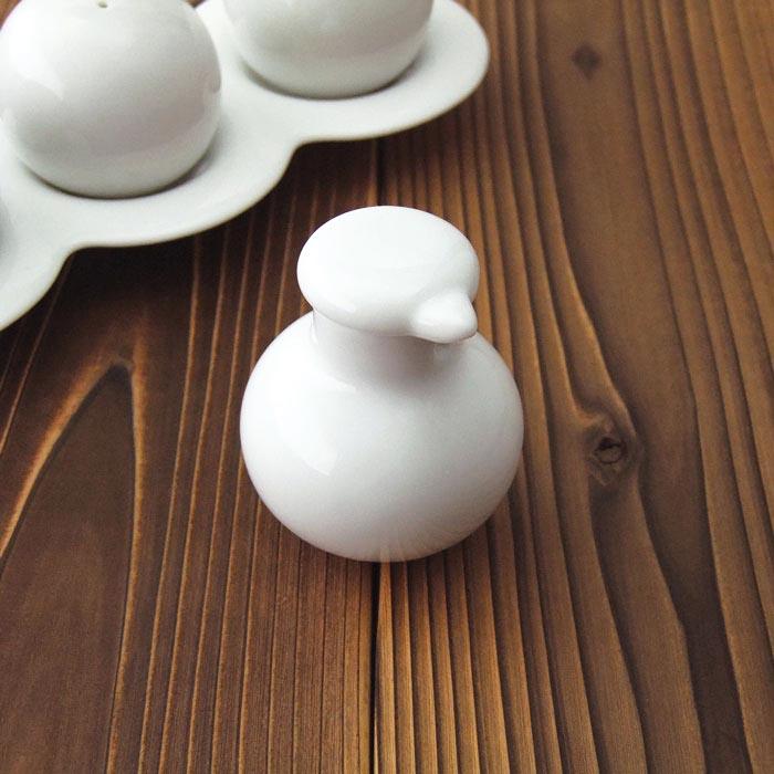 蓋が落ちにくく液だれしない 醤油ソース差し メーカー公式 commode コモド 時間指定不可 しょうゆ差し 陶器 調味料入れ 日本製 業務用食器