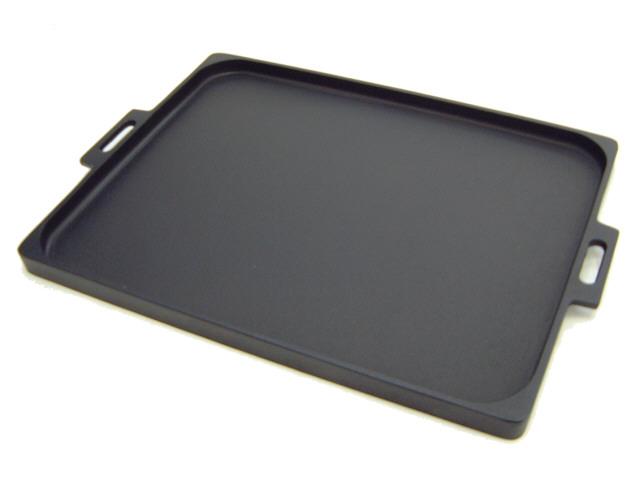 Southern Ironware IWACHU [Nanbutekki] : Cast Iron Plate For Meat Grill  DOSSHIRIKUN Size L