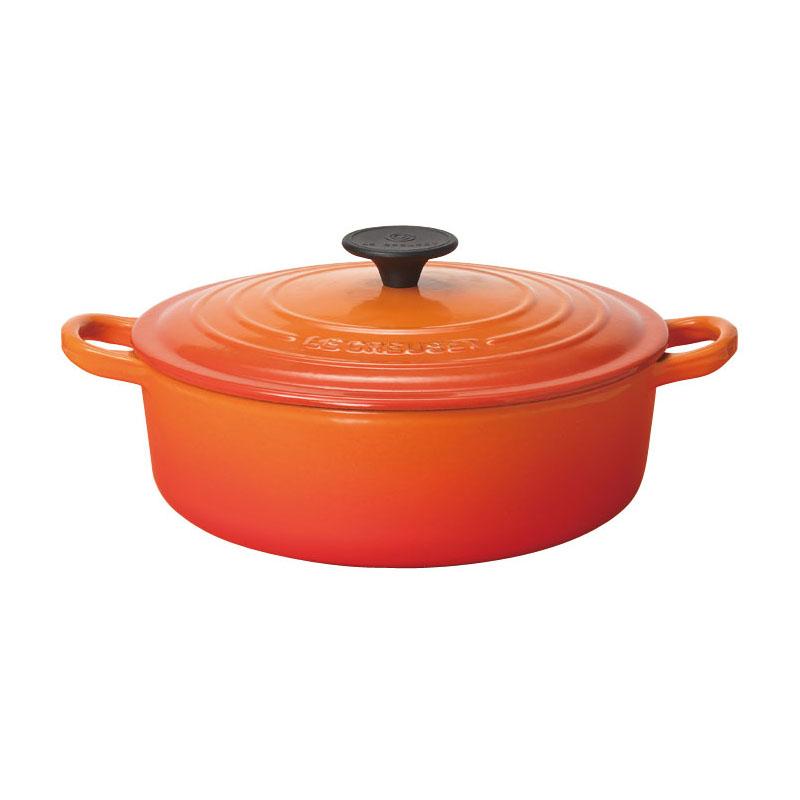 25052-24 ル・クルーゼ ココット・ ジャポネーズ 24cm オレンジ