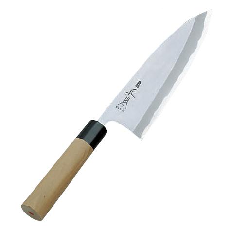 正本 本霞・玉白鋼 出刃庖刀15cm