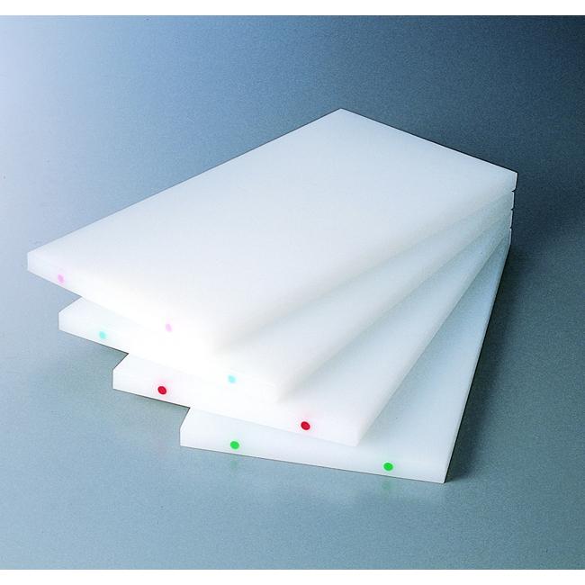 スーパー100 抗菌耐熱俎板50×25×3cm カラーポイント付
