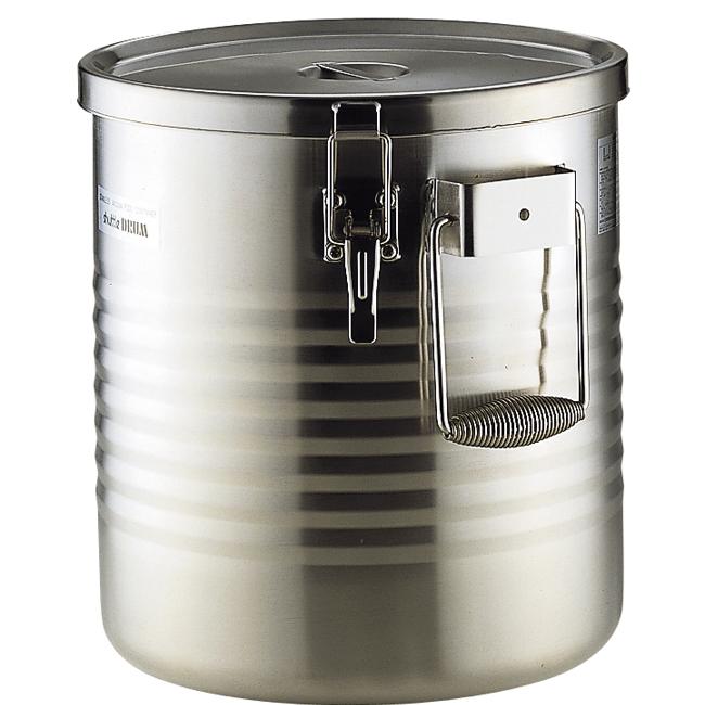 魔法ビンの保温力。料理の味を煮詰めずに保温します。 サーモス シャトルドラム JIK-W18 18L 保温 食缶 給食缶