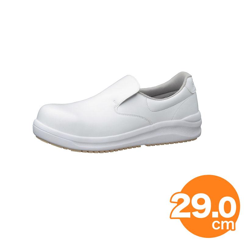 【開店記念セール!】 [クーポンでMAX10%OFF 12日10時迄]ハイグリップ耐滑安全靴NHS600 29cm 白 コックシューズ 厨房用シューズ, アウトレット USA 1371327b