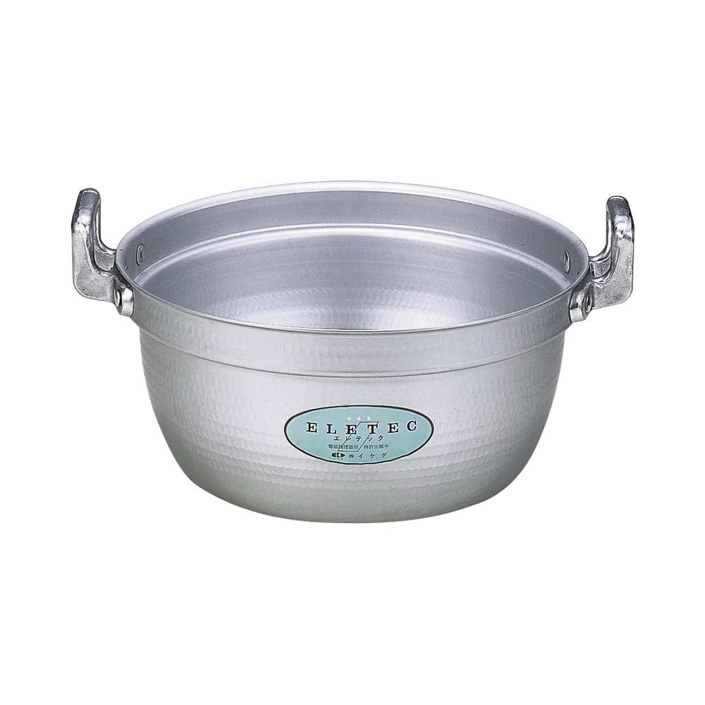 エコクリーン アルミエレテック料理鍋39cm IH対応 円付鍋