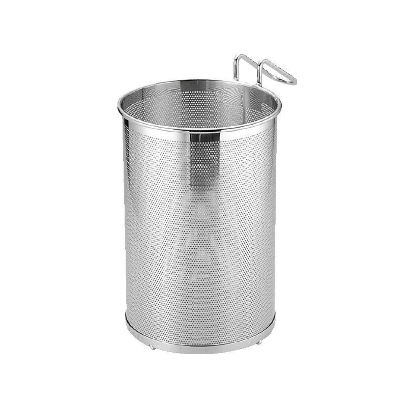 UK 18-8パンチング丸スープ取りザル 20cm φ1.5mm