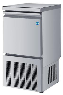 【送料無料】新品!ジェーシーエム 製氷機25kgタイプ W395*D450*H800mm JCMI-25