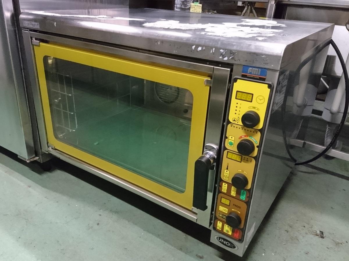 【中古 送料無料】FМI ベーカリーオーブン ウノックス XB403 三相200V スチームコンベクションオーブン 業務用厨房機器【動作確認済み】